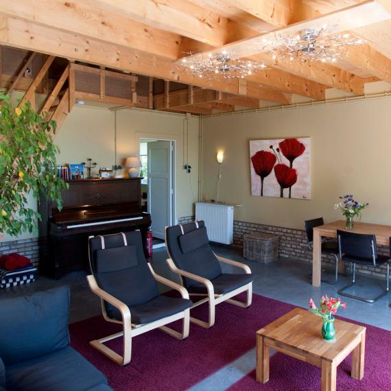 Huiskamer interieur - Huisje bij de Molen